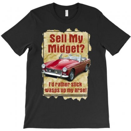 Sell Midget Ideal Birthday Gift Or Present T-shirt Designed By H4syim