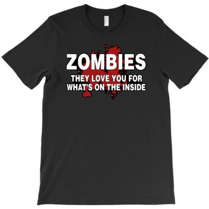 Zombies Love You, Ideal Birthday Gift Or Present T-shirt Designed By H4syim