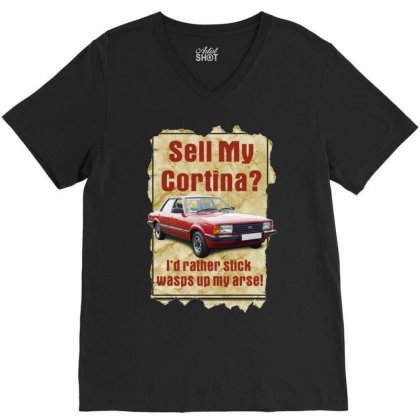 Sell My Cortina Ideal Birthday Gift Or Present V-neck Tee Designed By H4syim