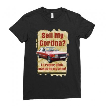 Sell My Cortina Ideal Birthday Gift Or Present Ladies Fitted T-shirt Designed By H4syim