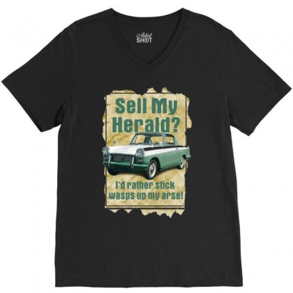 Sell My Herald Ideal Birthday Gift Or Present V-neck Tee Designed By H4syim