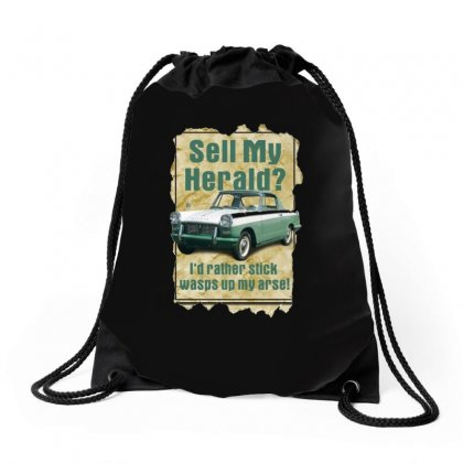 Sell My Herald Ideal Birthday Gift Or Present Drawstring Bags Designed By H4syim