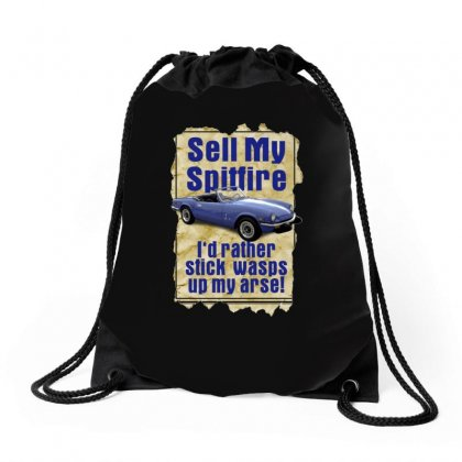 Sell My Spitfire Deal Birthday Gift Or Present Drawstring Bags Designed By H4syim