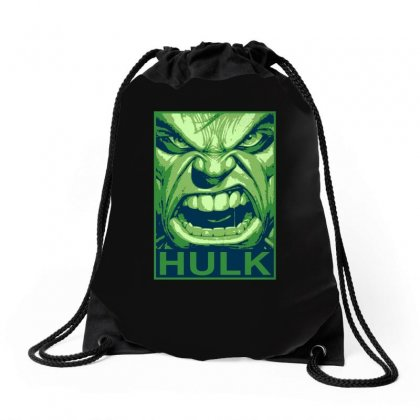 The Hulk Poster, Ideal Gift Or Birthday Present. Drawstring Bags Designed By H4syim