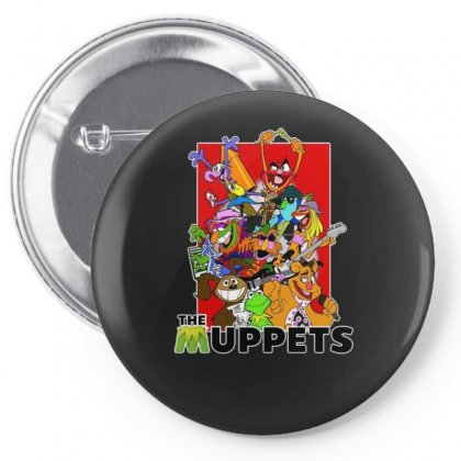 The Muppets Cartoon Ideal Birthday Present Or Gift Pin-back Button Designed By H4syim
