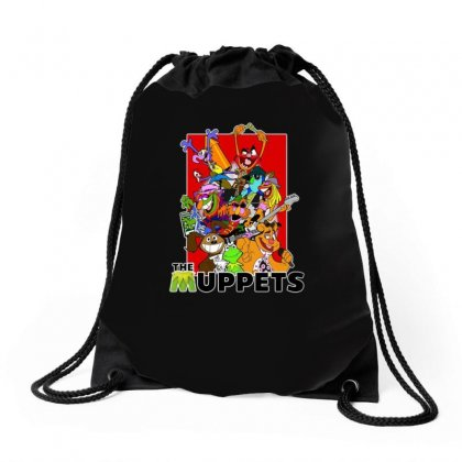 The Muppets Cartoon Ideal Birthday Present Or Gift Drawstring Bags Designed By H4syim