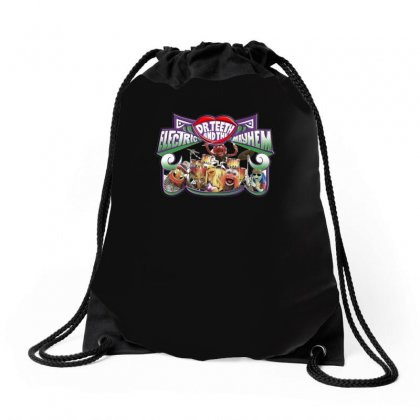 The Muppets Dr Teeth, Ideal Birthday Gift Or Present Drawstring Bags Designed By H4syim