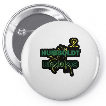 Humboldt Broncos 1 Pin-back Button Designed By Vanitty