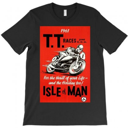 Vintage Tt Race Poster, Ideal Gift Or Birthday Present T-shirt Designed By H4syim