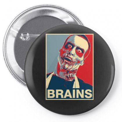 Zombie Poster, Ideal Birthday Gift Or Present Pin-back Button Designed By H4syim