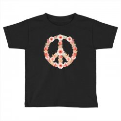 floral peace Toddler T-shirt | Artistshot