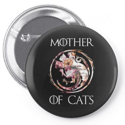 Mother Of Cats Pin-back Button Designed By Sengul