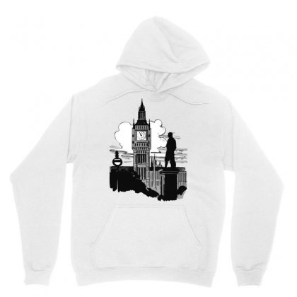 Big Ben England London Uk Landmark Unisex Hoodie Designed By Salmanaz