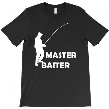 Aster Baiter Mens Rude Fishing T-shirt Designed By Acen9