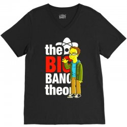 big bang theory leonard, ideal gift or birthday present. V-Neck Tee | Artistshot