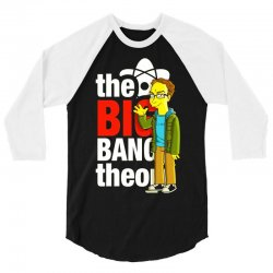 big bang theory leonard, ideal gift or birthday present. 3/4 Sleeve Shirt | Artistshot