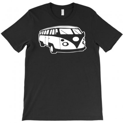 Camper Van Funny Mens Campervan Cotton T-shirt Designed By Acen9