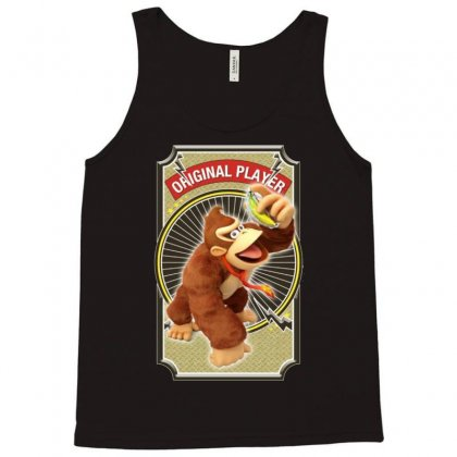 Donkey Kong Original Player Ideal Birthday Present Or Gift Tank Top Designed By Acen9