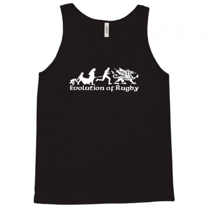 Evolution Of Welsh Rugby, Mens Wales Nations Rugby Ringer Tank Top Designed By Acen9
