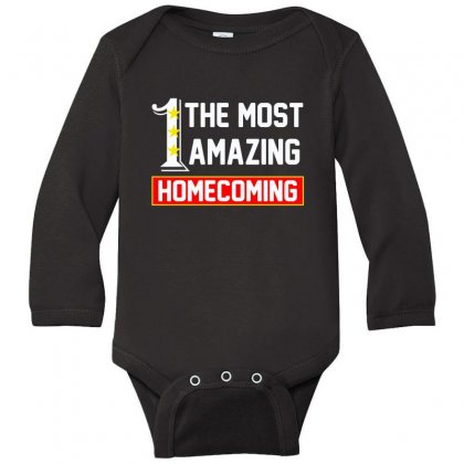 The Most Amazing Homecoming Long Sleeve Baby Bodysuit Designed By Anrora