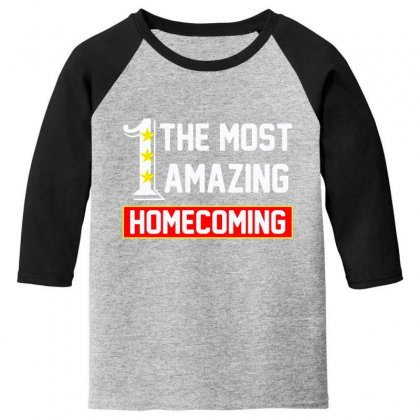 The Most Amazing Homecoming Youth 3/4 Sleeve Designed By Anrora