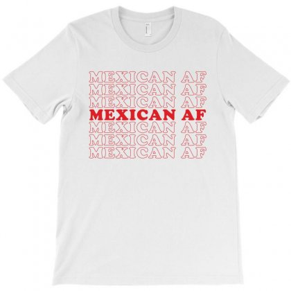 Mexican Af T-shirt Designed By Toweroflandrose