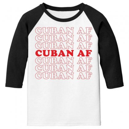Cuban Af Youth 3/4 Sleeve Designed By Toweroflandrose