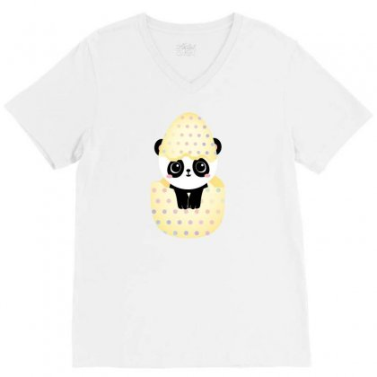 Bear's Egg V-neck Tee Designed By Basma200