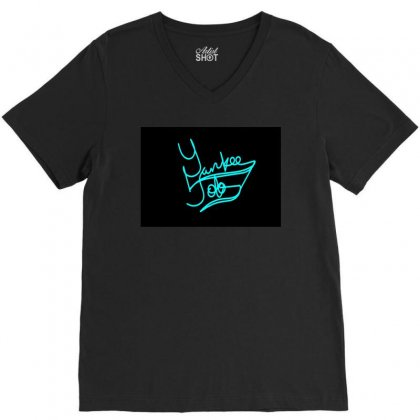 Yayo V-neck Tee Designed By Blaccday