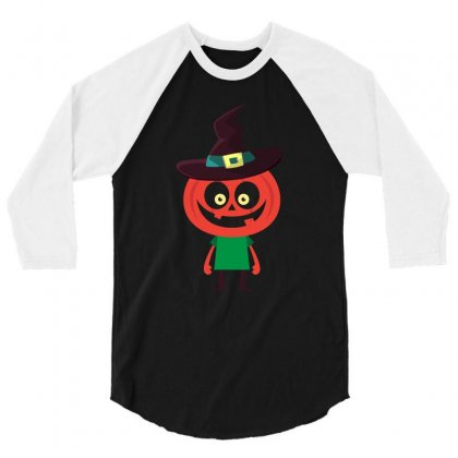 Halloween Variety Of Cute Halloween 3/4 Sleeve Shirt Designed By Hung