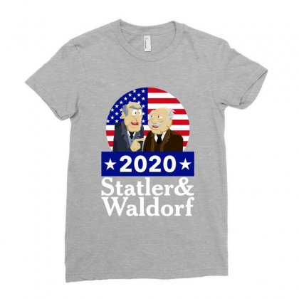 Statler And Waldorf 2020 Ladies Fitted T-shirt Designed By Zeynepu