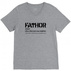 fathor for light V-Neck Tee | Artistshot