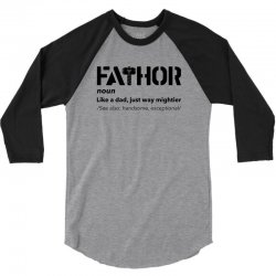 fathor for light 3/4 Sleeve Shirt | Artistshot