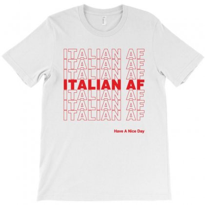 Italian Af T-shirt Designed By Toweroflandrose