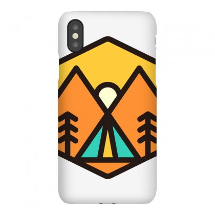 Camp Sunset Iphonex Case Designed By Quilimo