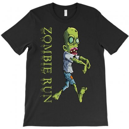 Zombie Run T-shirt Designed By Egyboy