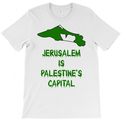 Jerusalem Is Palestine's Capital T-shirt Designed By Egyboy
