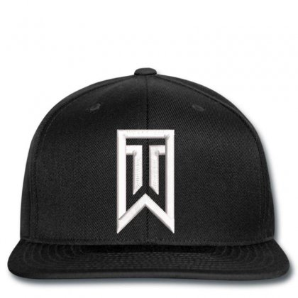 Tiger Woods Embroidery Embroidered Hat Snapback Designed By Madhatter