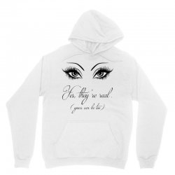 yes they are real your can be too tshirt Unisex Hoodie | Artistshot