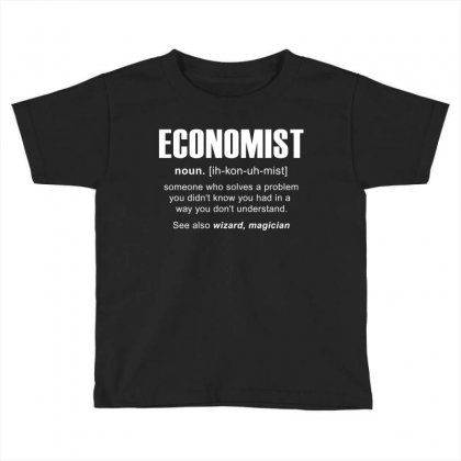 Economist Meaning Tshirt Toddler T-shirt Designed By Hung