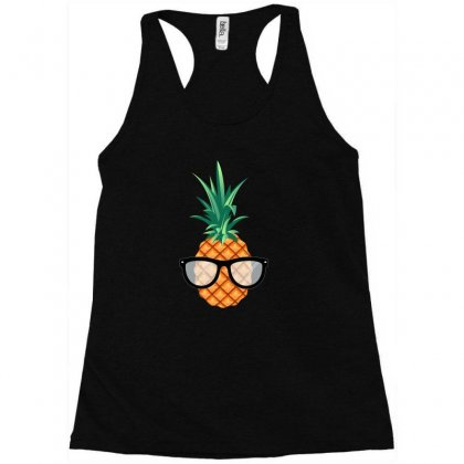 Fruit Cool Pineapple Graphic Tshirt Racerback Tank Designed By Hung