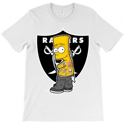 Bart's Raider Nation T-shirt Designed By Tiococacola