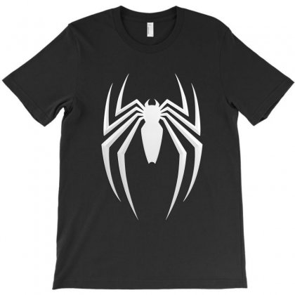 Spider Man Logo T-shirt Designed By Tiococacola