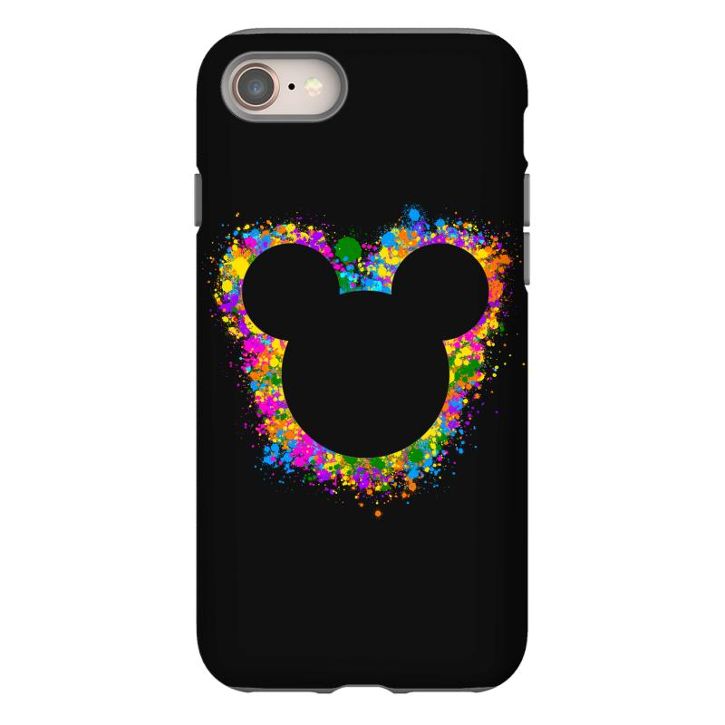 Watercolor Splash Mickey Iphone 8 Case | Artistshot