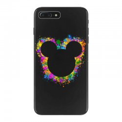watercolor splash mickey iPhone 7 Plus Case | Artistshot