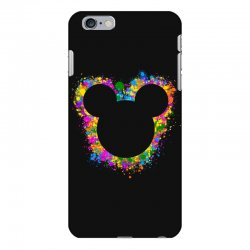 watercolor splash mickey iPhone 6 Plus/6s Plus Case | Artistshot