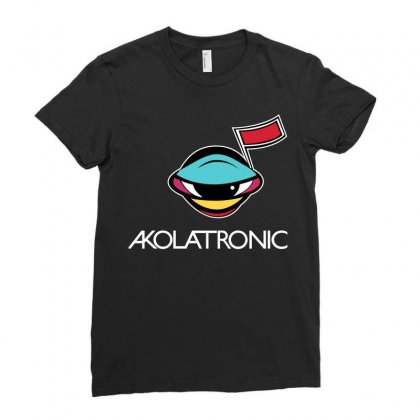 Akolatronics Power Ladies Fitted T-shirt Designed By Silicaexil