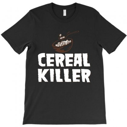 Killer Cereal T-shirt Designed By Silicaexil
