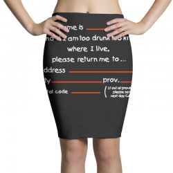 Drunk Address Pencil Skirts | Artistshot