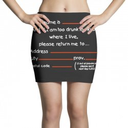 Drunk Address Mini Skirts | Artistshot